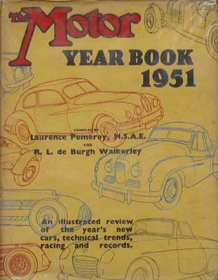 Image for The Motor Year Book 1951