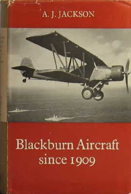 Image for Blackburn Aircraft Since 1909