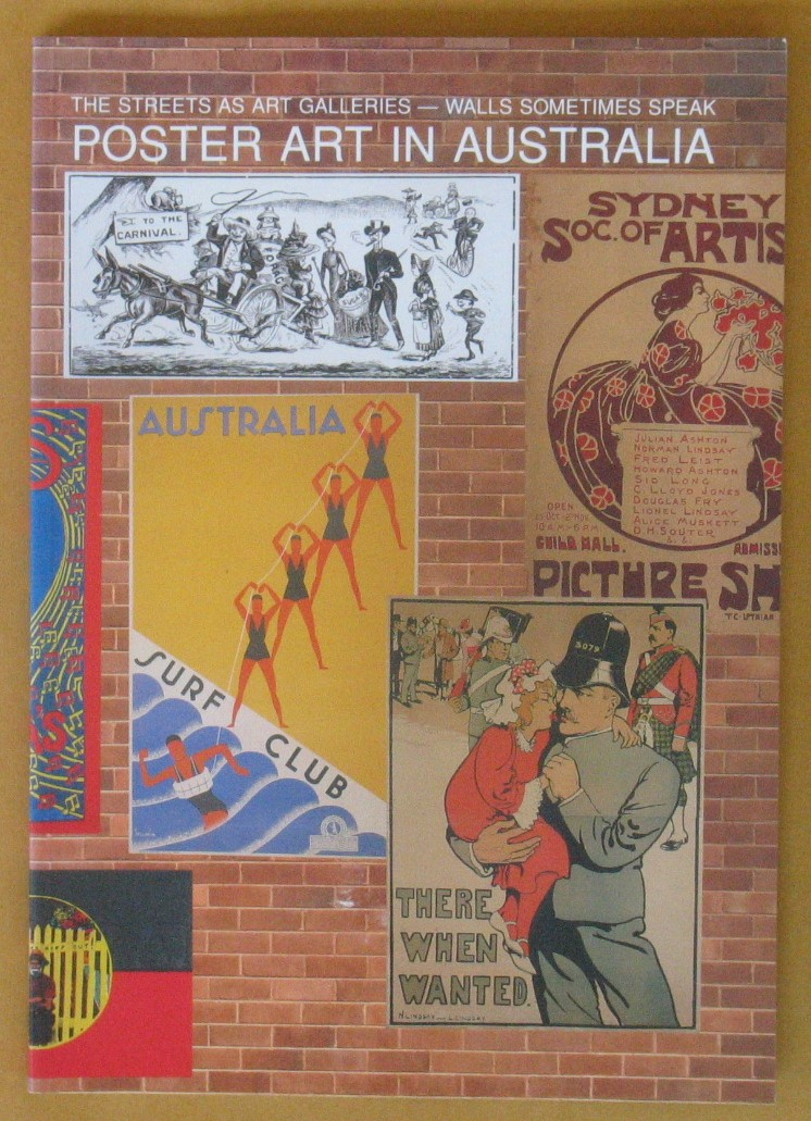 Image for The Streets as Art Galleries: Walls Sometimes Speak. Poster Art in Australia