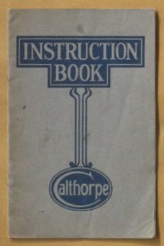 Image for Calthorpe Instruction Manual (1260cc Minor)