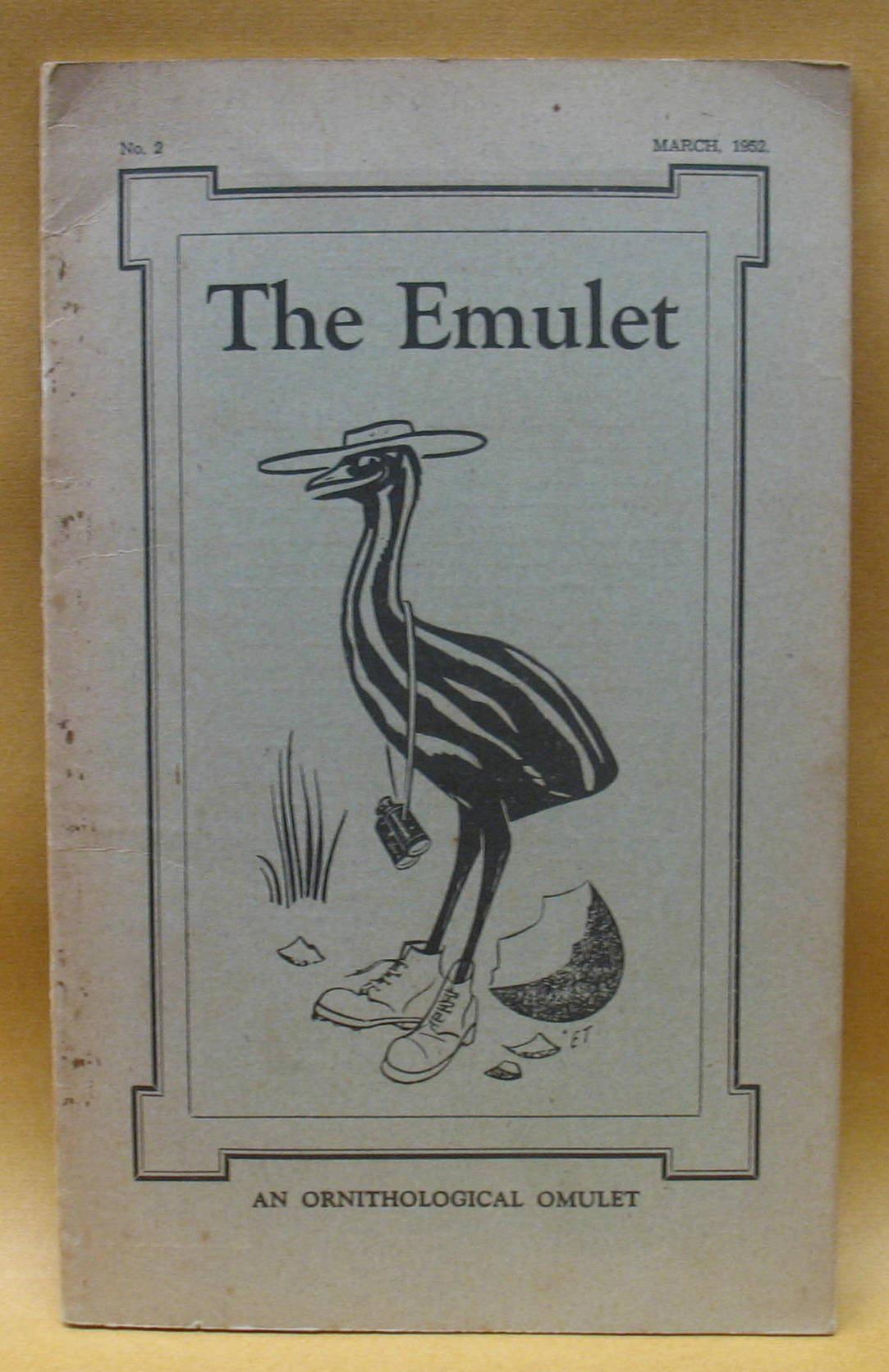 Image for The Emulet:  An Ornithological Omulet