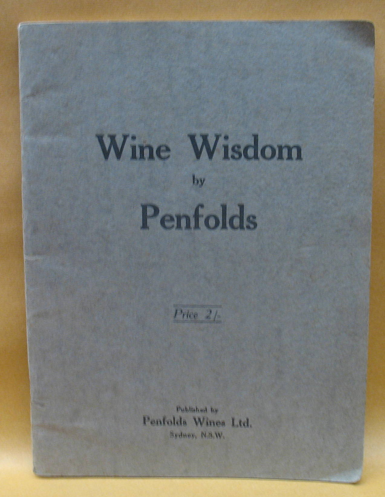 Image for Wine Wisdom By Penfolds