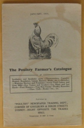 Image for The Poultry Farmer's Catalogue January, 1935