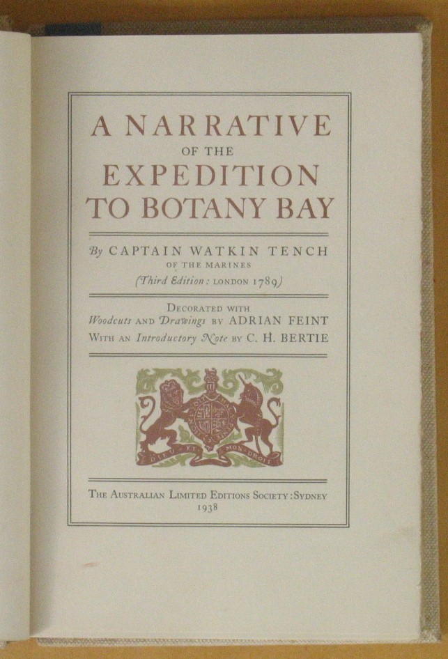 Image for A Narrative of the Expedition to Botany Bay