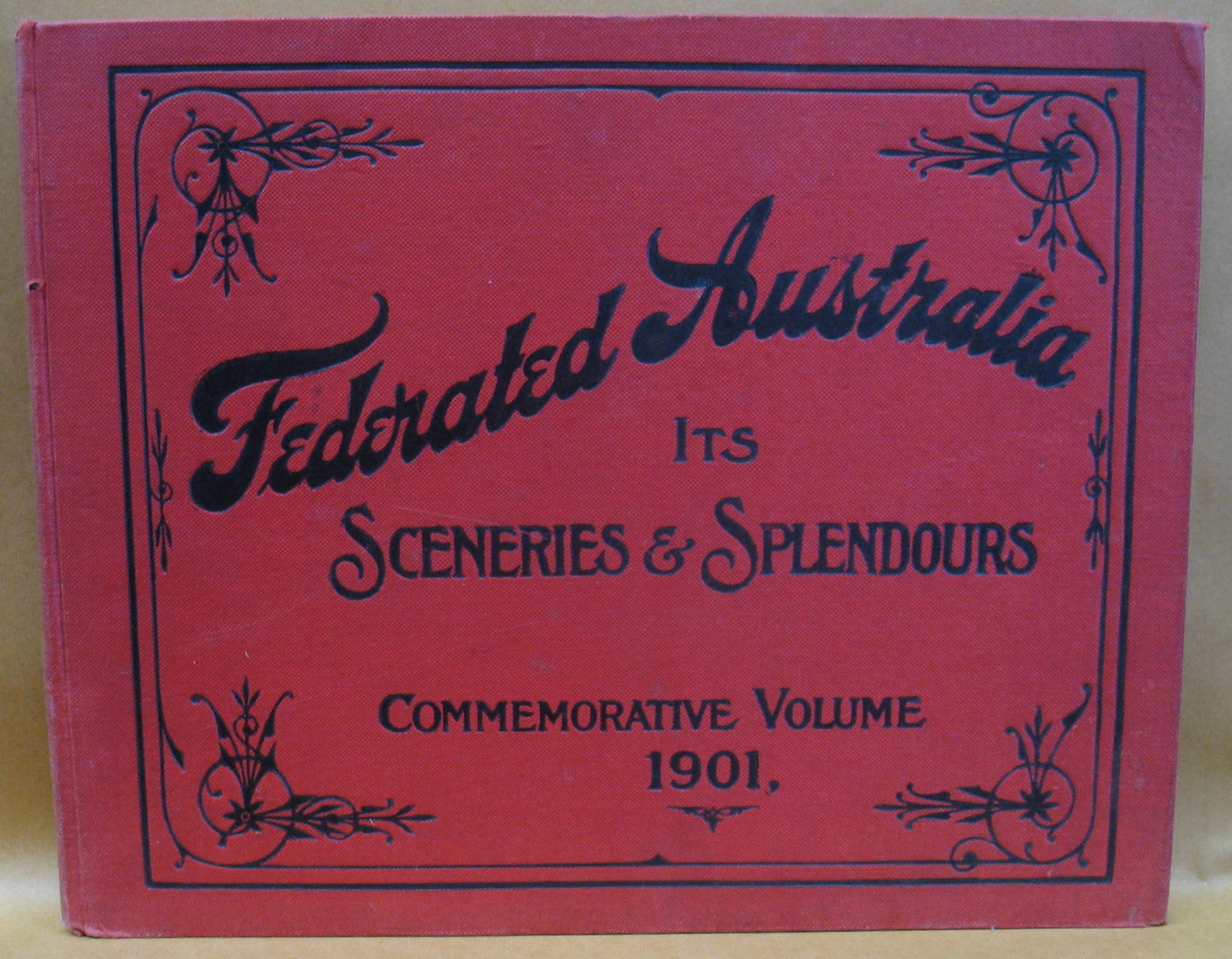 Image for Federated Australia: Photographs Despicting The Scenery, The Cities, The Industries & Interesting Phases of Australian Life - Gems of Natural Beauty in New South Wales, Victoria, Queensland, Southern Australia, Western Australia and Tasmania