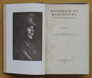 Image for Randwick to Hargicourt : History of the 3rd Battalion A.I,F.