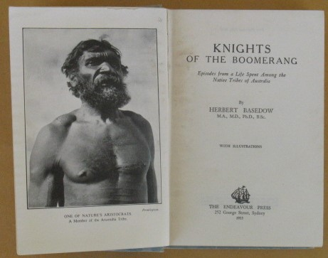 Image for Knights of the Boomerang: Episodes from a Life Spent Among the Native Tribes of Australia