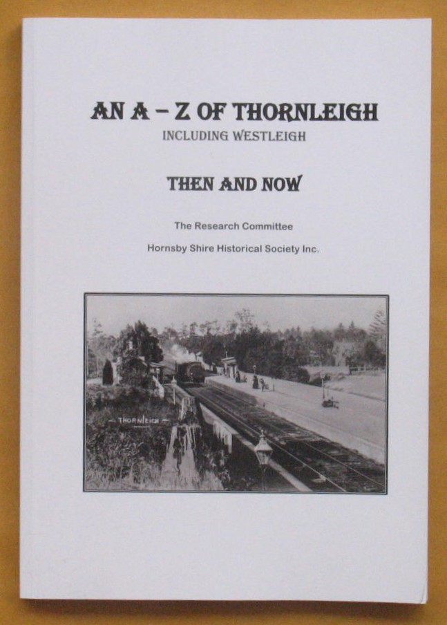 Image for An A-Z of Thornleigh Including Westleigh Then and Now