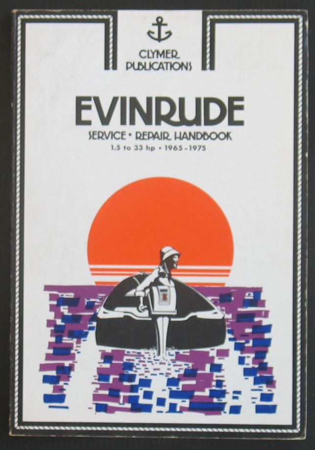 Image for Evinrude Service Repair Handbook 1.5 To 33hp 1965-1975