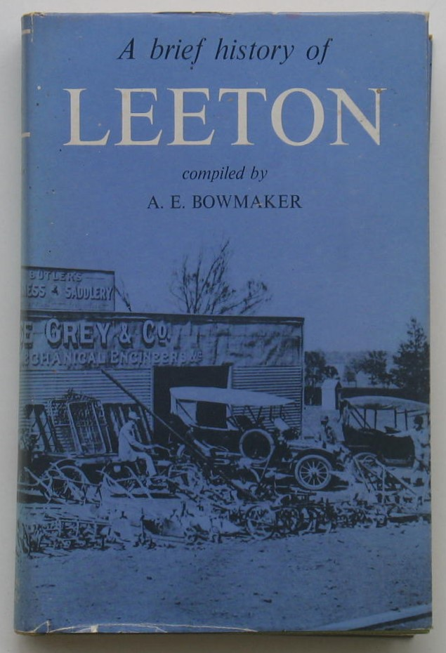 Image for A Brief History of Leeton