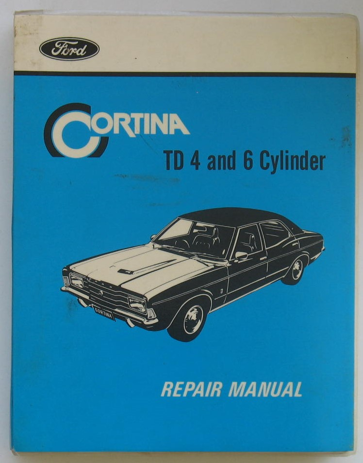 Image for Ford Cortina TD Four and Six Cylinder Repair Manual
